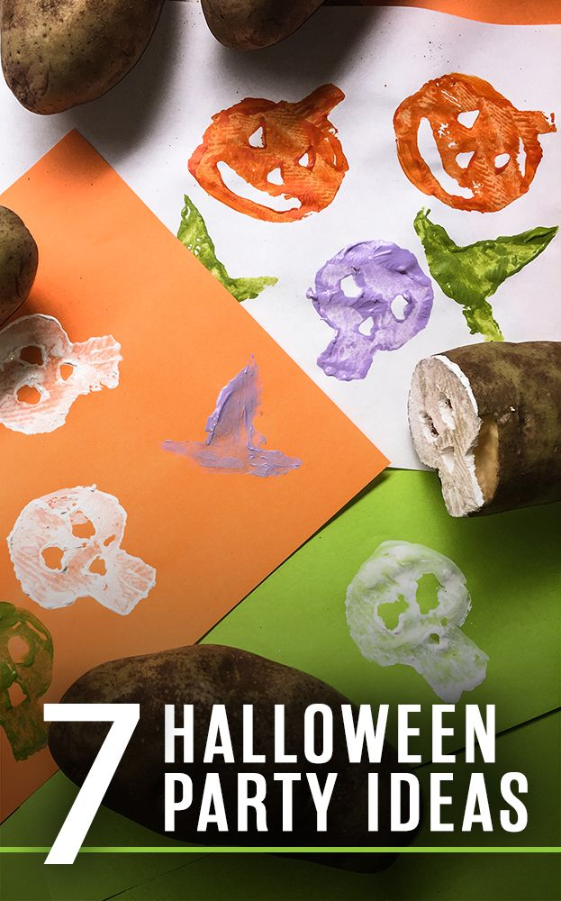 7 Halloween Party Ideas You Can Make Yourself! DIY Home Projects - halloween activities ideas
