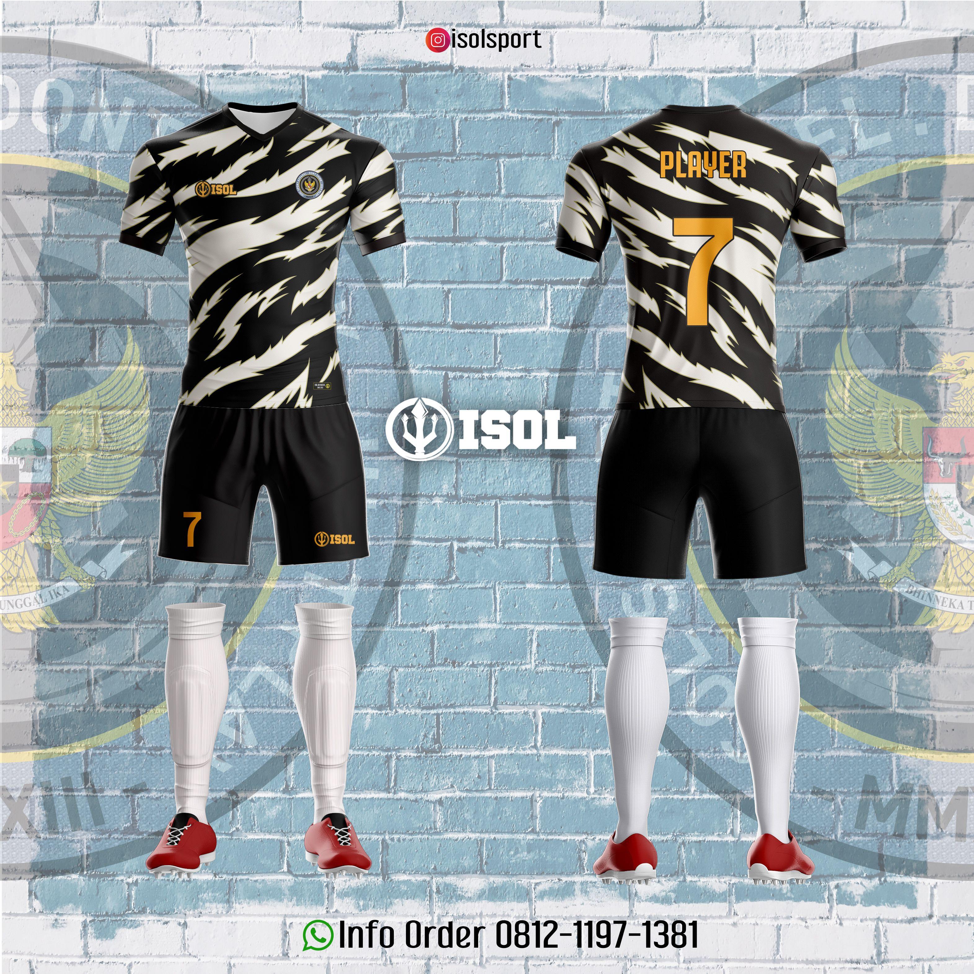 17 Jersey Futsal Desain Printing