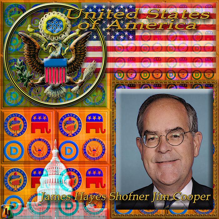 "HIPERINFO.RU \ USA \ UNITED STATES CONGRESS \ CONGRESSMAN \ James Hayes Shofner ""Jim"" Cooper Member of the U.S. House of Representatives"