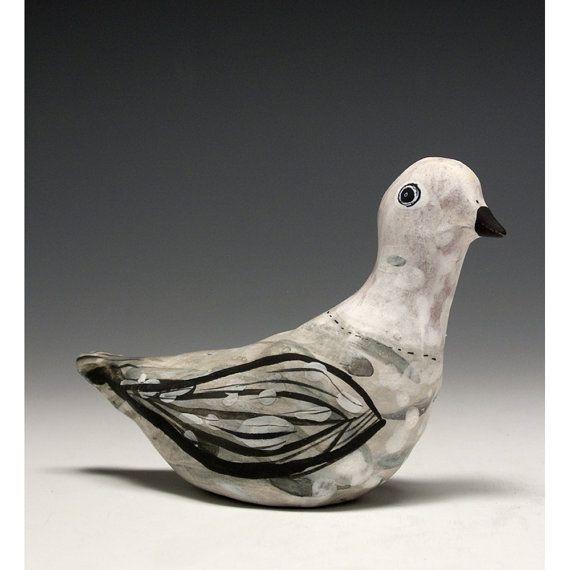 A Ceramic Bird Ayla by jennymendes on Etsy