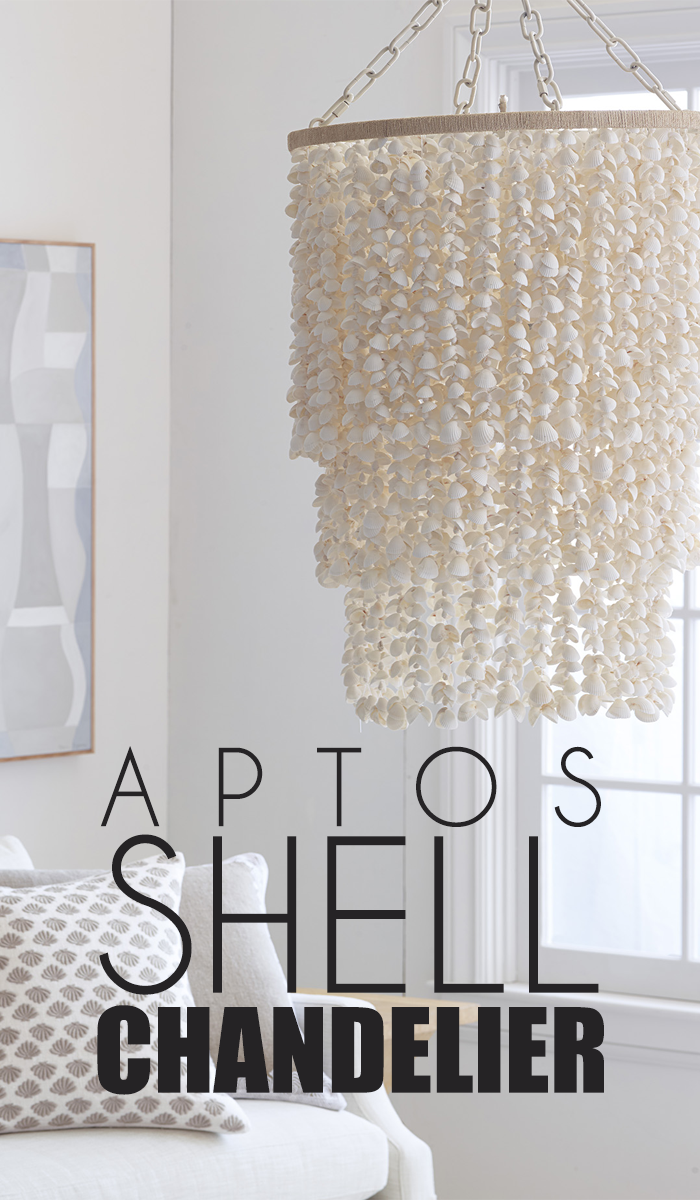 aptos shell chandelier is perfect gives your bedroom the romantic rh pinterest com