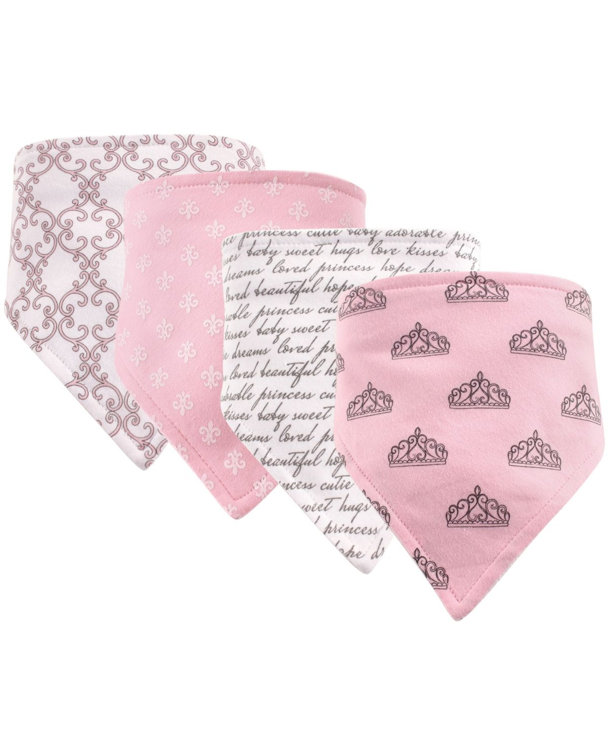 PERSONALISED BABY GIRLS BIB BANDANA//BANDANNA PINK  EMBROIDERED GIFT :