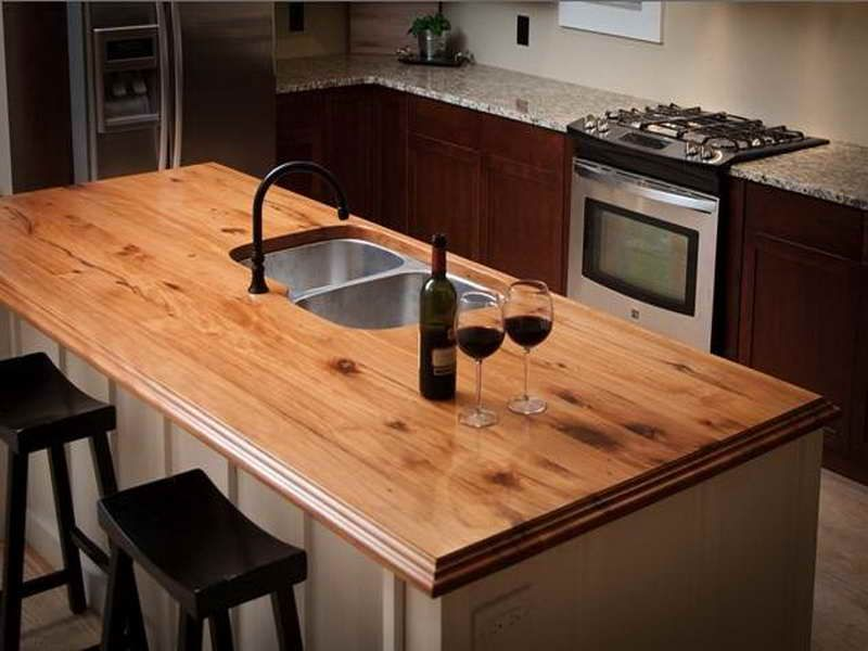 laminate countertops wood grain kitchen reclaimed wood kitchen rh pinterest com