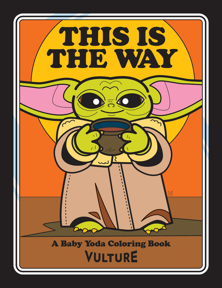 The Unofficial Baby Yoda Coloring Book Coloring Books Yoda Free Printable Coloring Pages