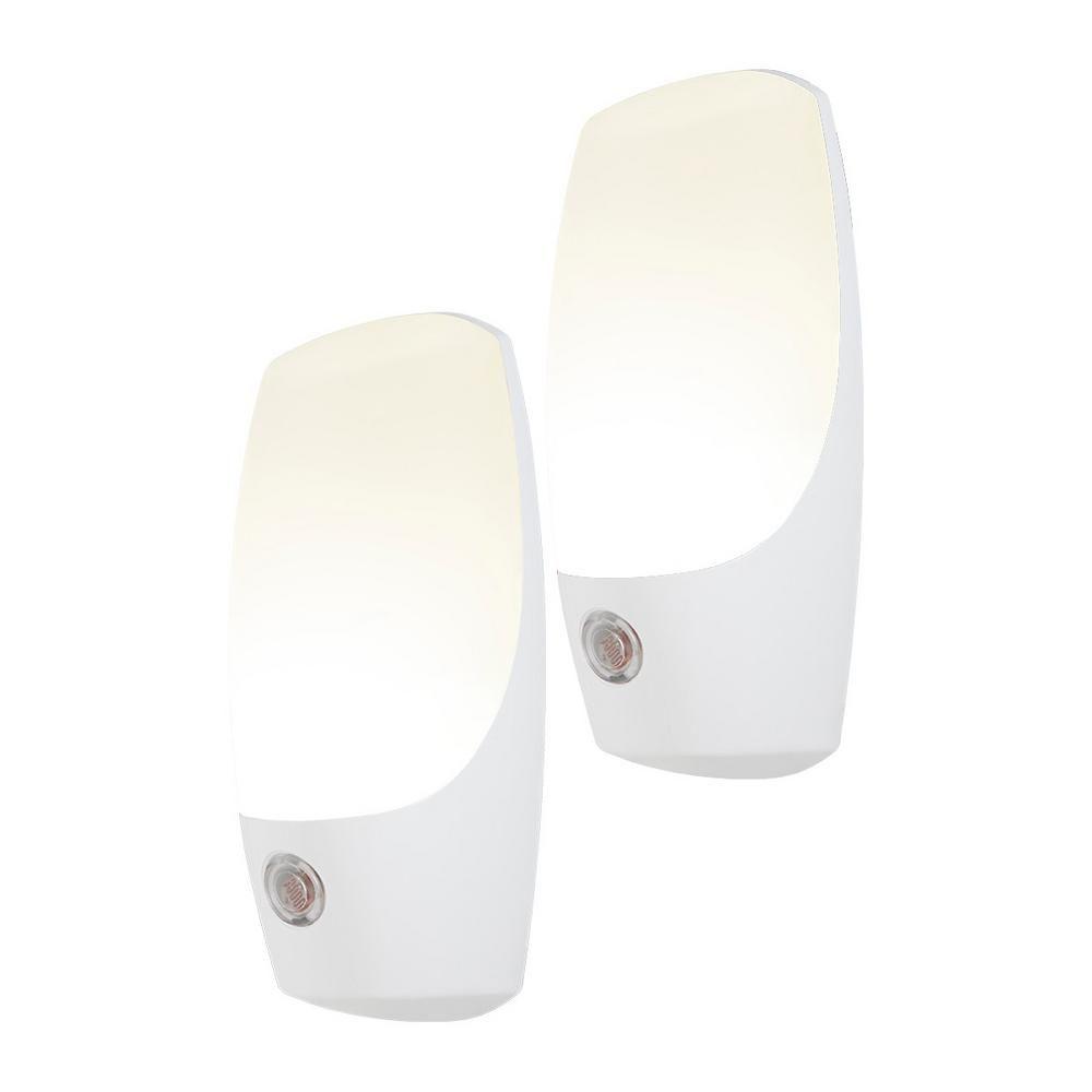 Energizer Automatic Light Sensing Plug In Led Night Light 2 Pack Led Night Light Night Light Led