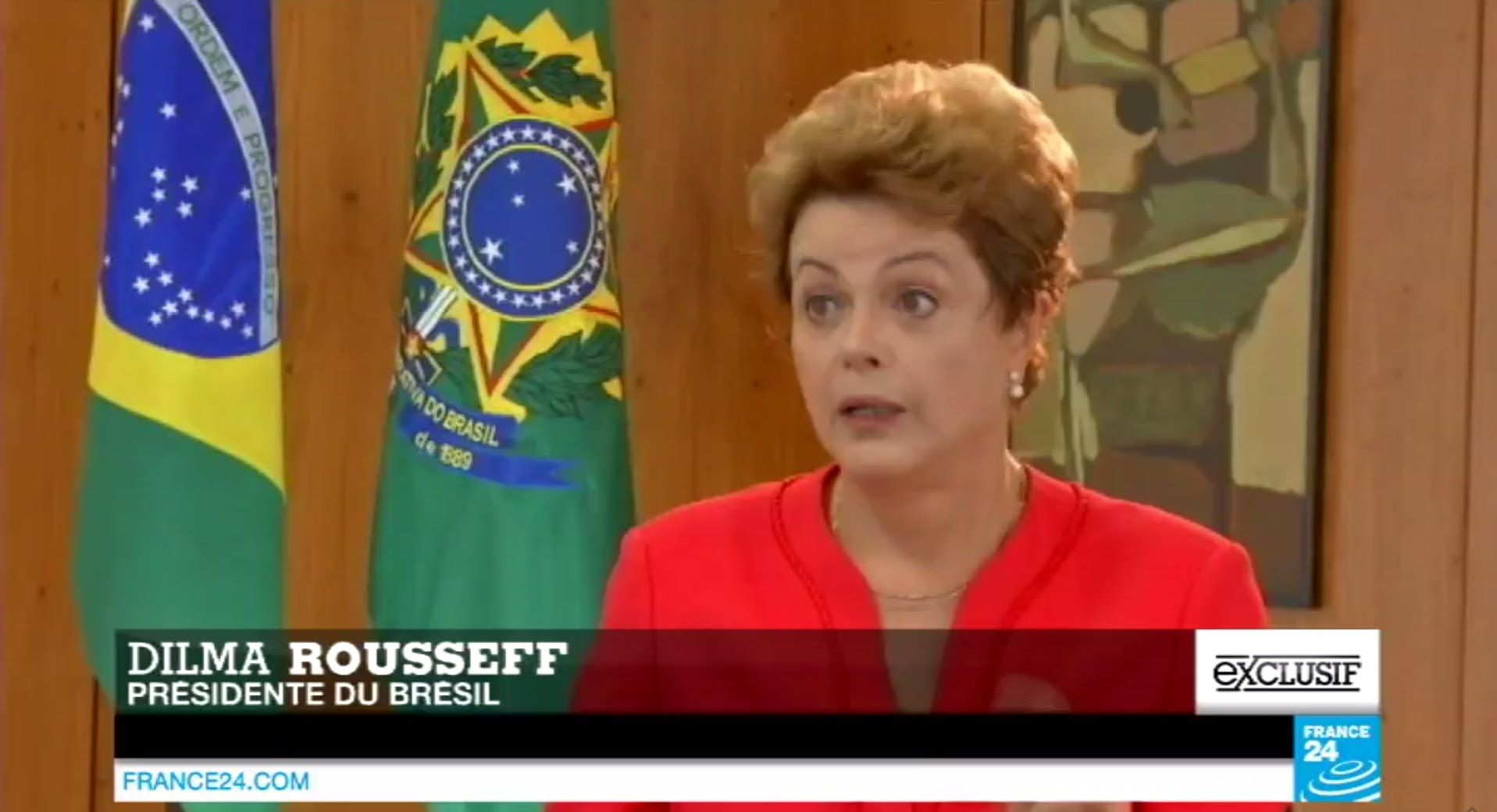 """BRAVO ! :-) EXCLUSIF - Dilma Rousseff : """"Faire la lumière sur le scandale de la FIFA..."""