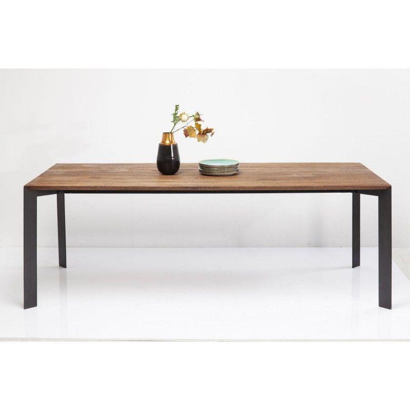 Table Phoenix 220x100cm Kare Design Table Contemporaine Table Salon Decoration Maison