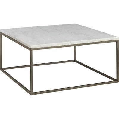 Found It At Wayfair Alana Square Coffee Table Coffee Table Or - Marble coffee table wayfair