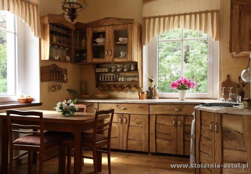 Meble Kuchenne Retro Rustykalne Wiejskie Drewniane 990 Zl Allegro Pl Raty 0 Darmowa Dostawa Ze Small Kitchen Decor Diy Kitchen Decor Home Library Decor