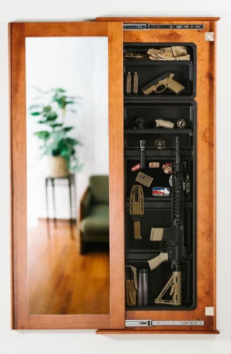 1450m bundle concealment full length mirror with magnetic lock home rh pinterest com