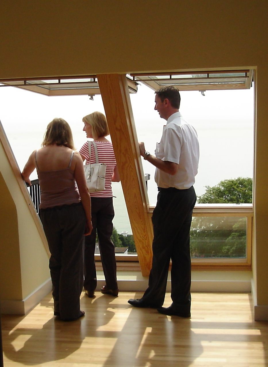 See how much space is wasted by the roof! Install VELUX