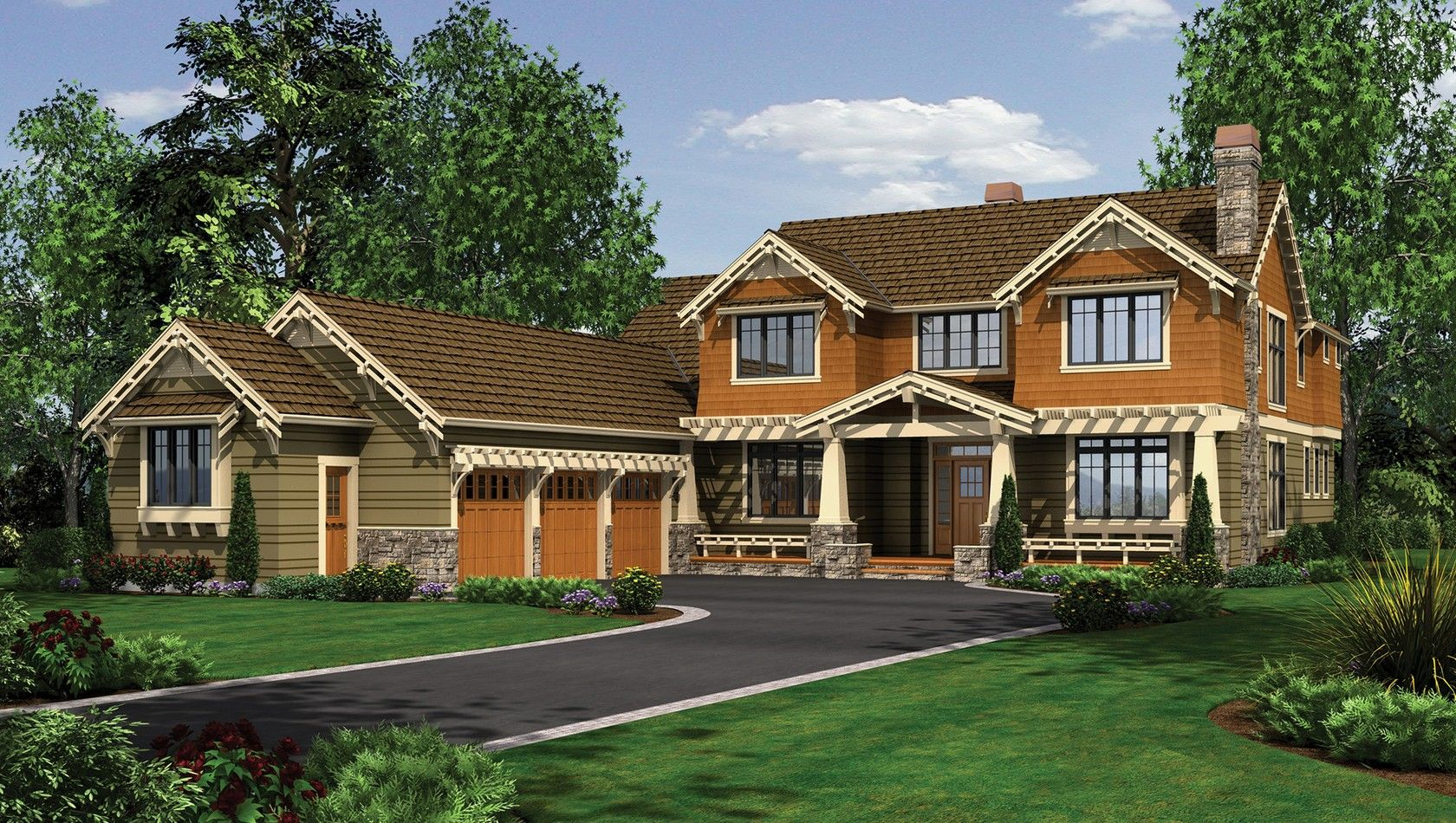 House Front Rendering My Dream