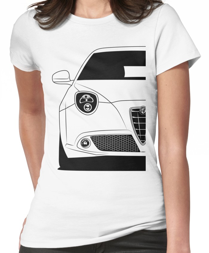 Alfa Romeo MiTo Best Shirt Design