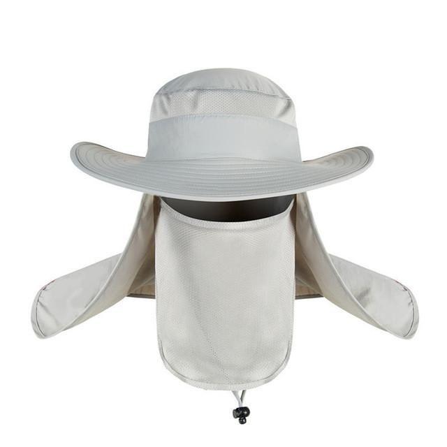 e91d95fa923ee Description  Hot Sale Bucket Hat Outdoor Unisex Brim Sun Block Quick Drying Fishing  Hat Big Wide Brim Neck Flap Climbing Hats Brand Name  feitong Material  ...