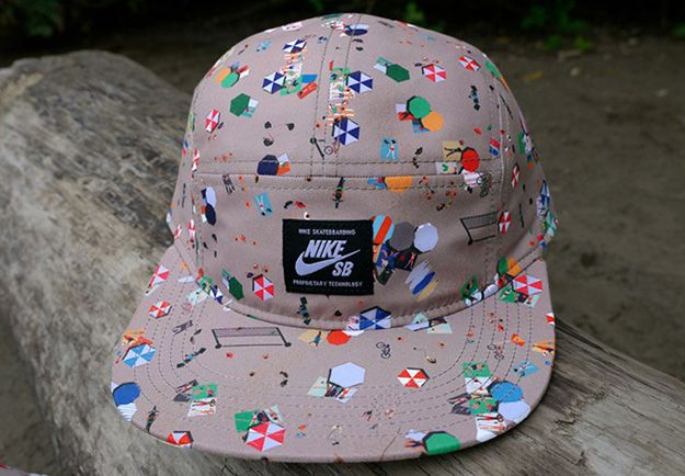 498078e2dcf87 Nike SB Beach 5-Panel Hat | Pattern • Print | Nike, Nike sb, Beach shoes