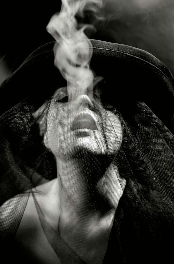 Smoke Night, 2014. Martin Chmelová. Gelatin silver print