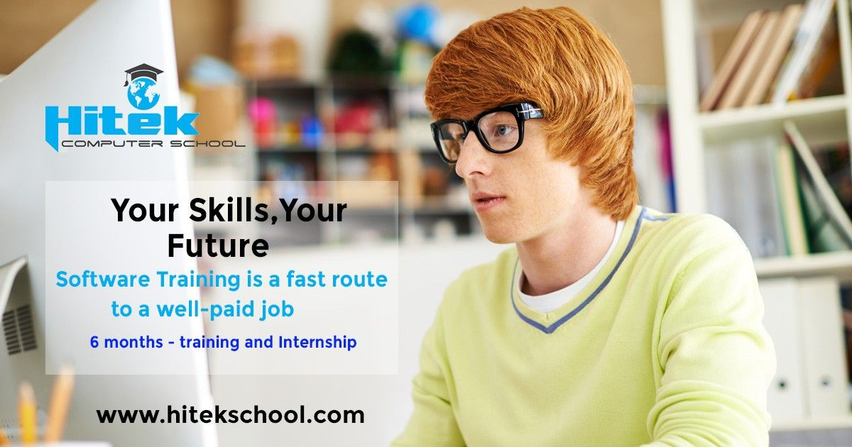 Dreaming for a well paid job? Join Hitek Computer School