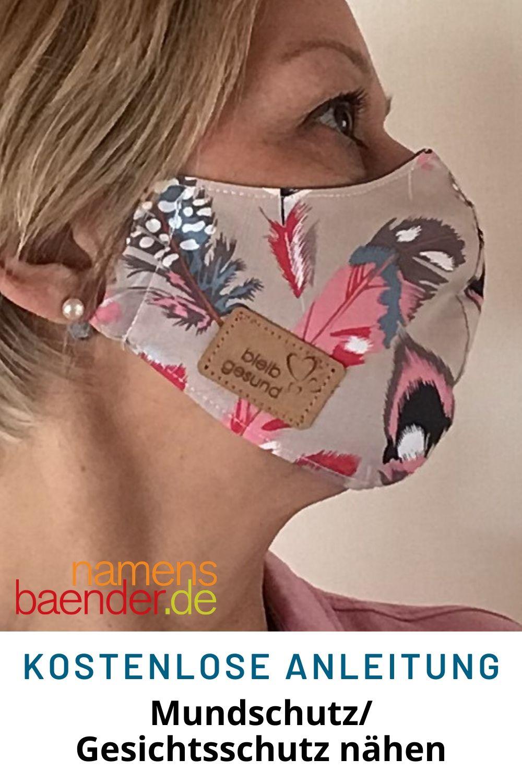 Nähanleitung für Mundschutz/Gesichtsmaske für Anfänger geeignet