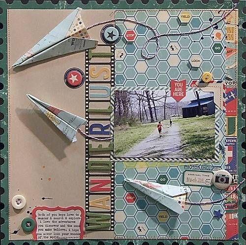 October Afternoon On Pinterest Papercraft Scrapbook