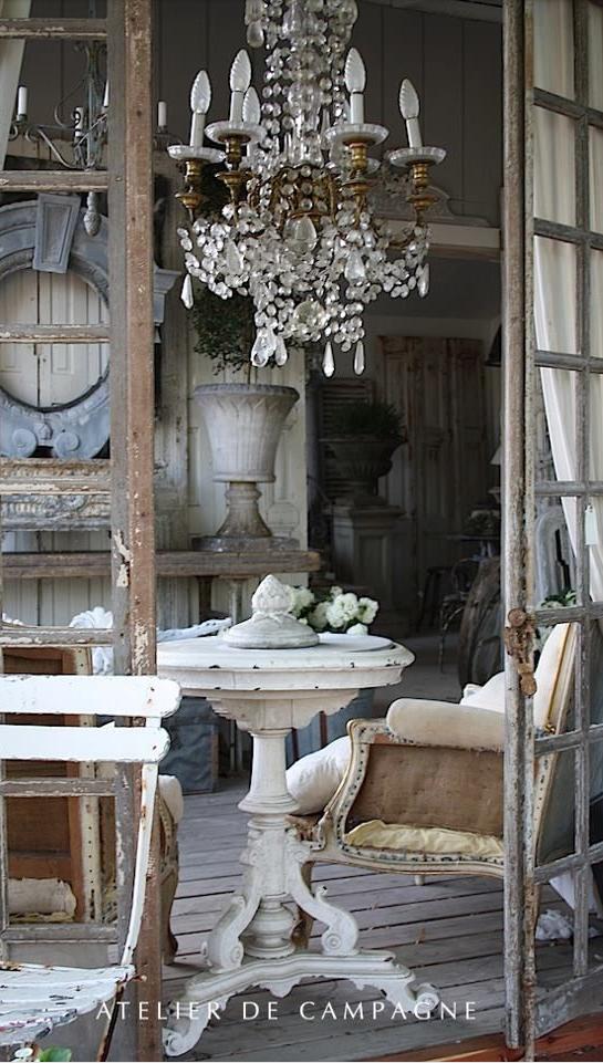 Home Design Rustic style Cottage Détente à la campagne