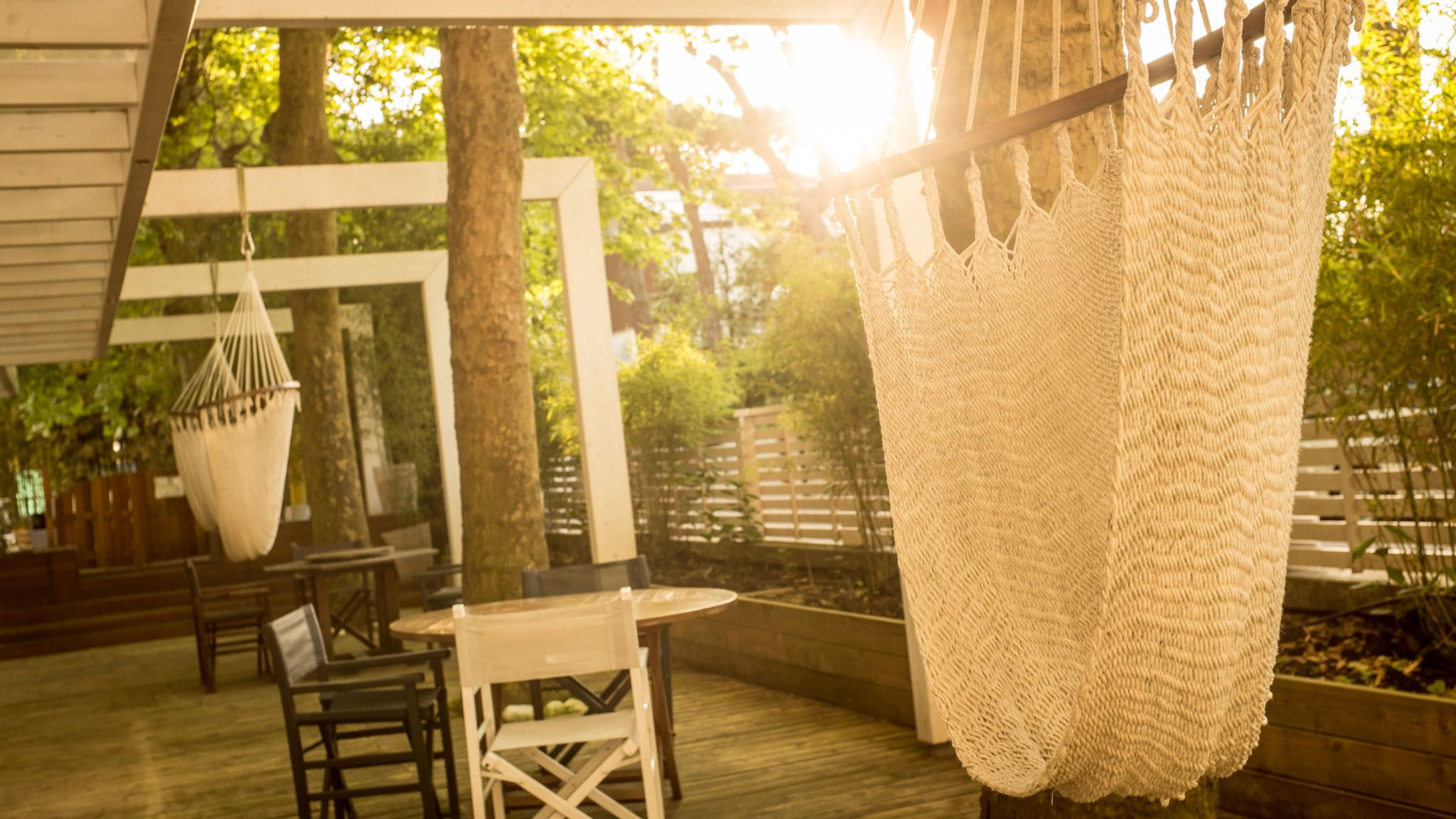 Amaca per rilassarsi nel gazebo Gazebo, Hotel e Luoghi