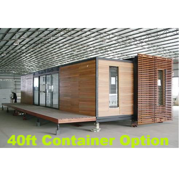 Rocky Mountains 2 Bedroom Shipping Container Home With Deck