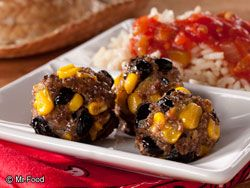 Tex Mex Meatballs from @Krista {Budget Gourmet Mom} - Finalist in Ultimate Weeknight Meal Contest