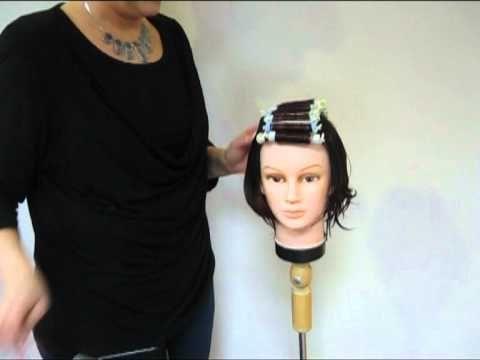 Haarwirbel am hinterkopf