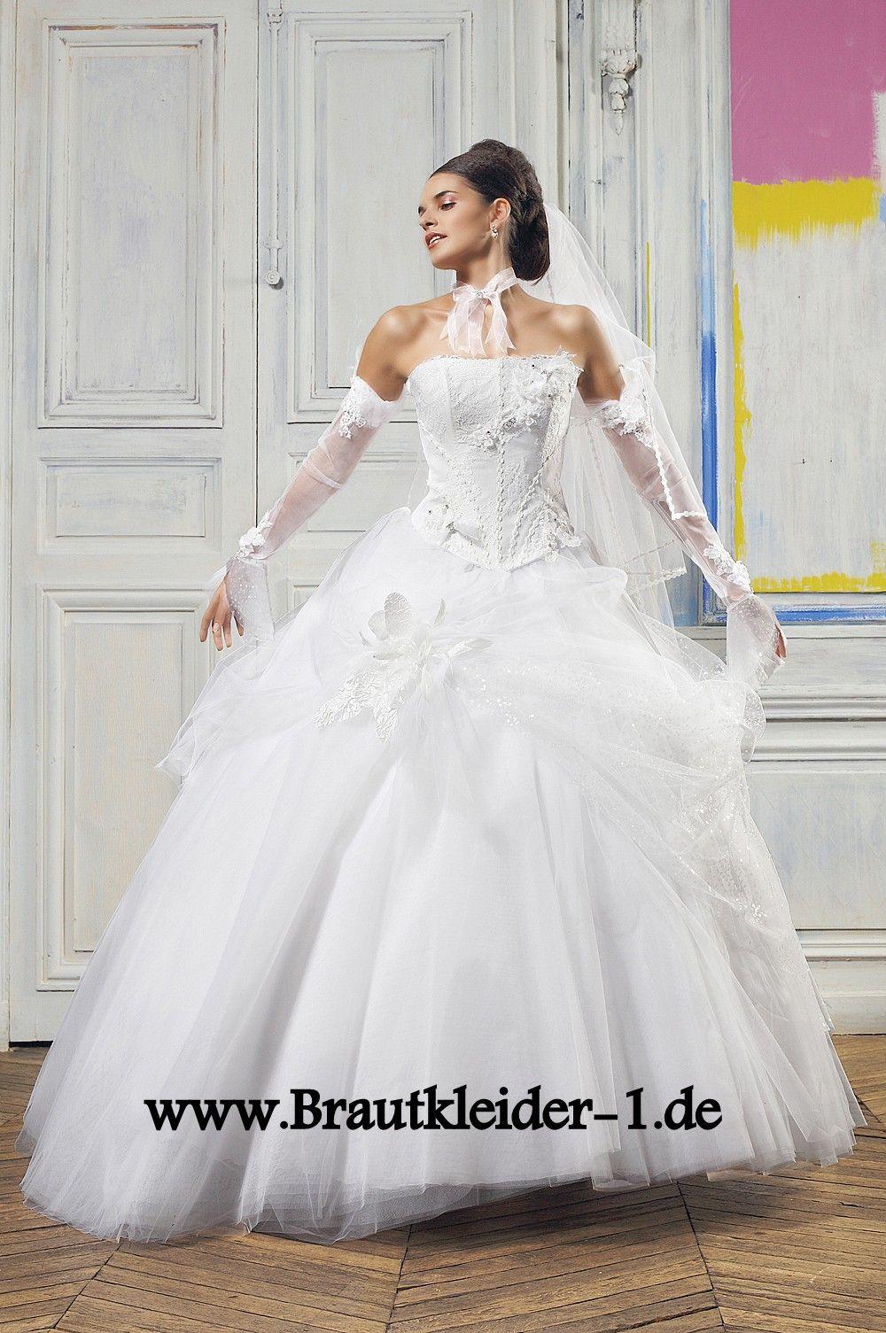 Tüll Brautkleid Online mit Corsage | Brautkleid | Pinterest | Tüll ...