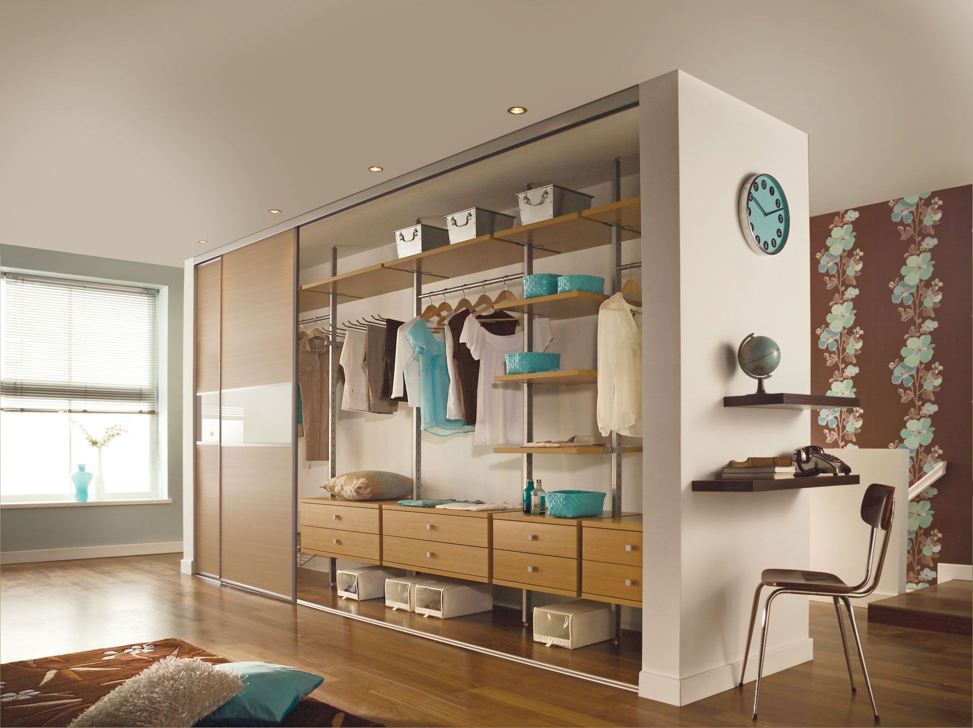 Modular bedroom furniture systems - Pax Closet System With Wall Clock Ideas Pax Closet System With Wall Clock Interior Design Pax Closet System With Wall Clock Image Id 50559 In Gallery
