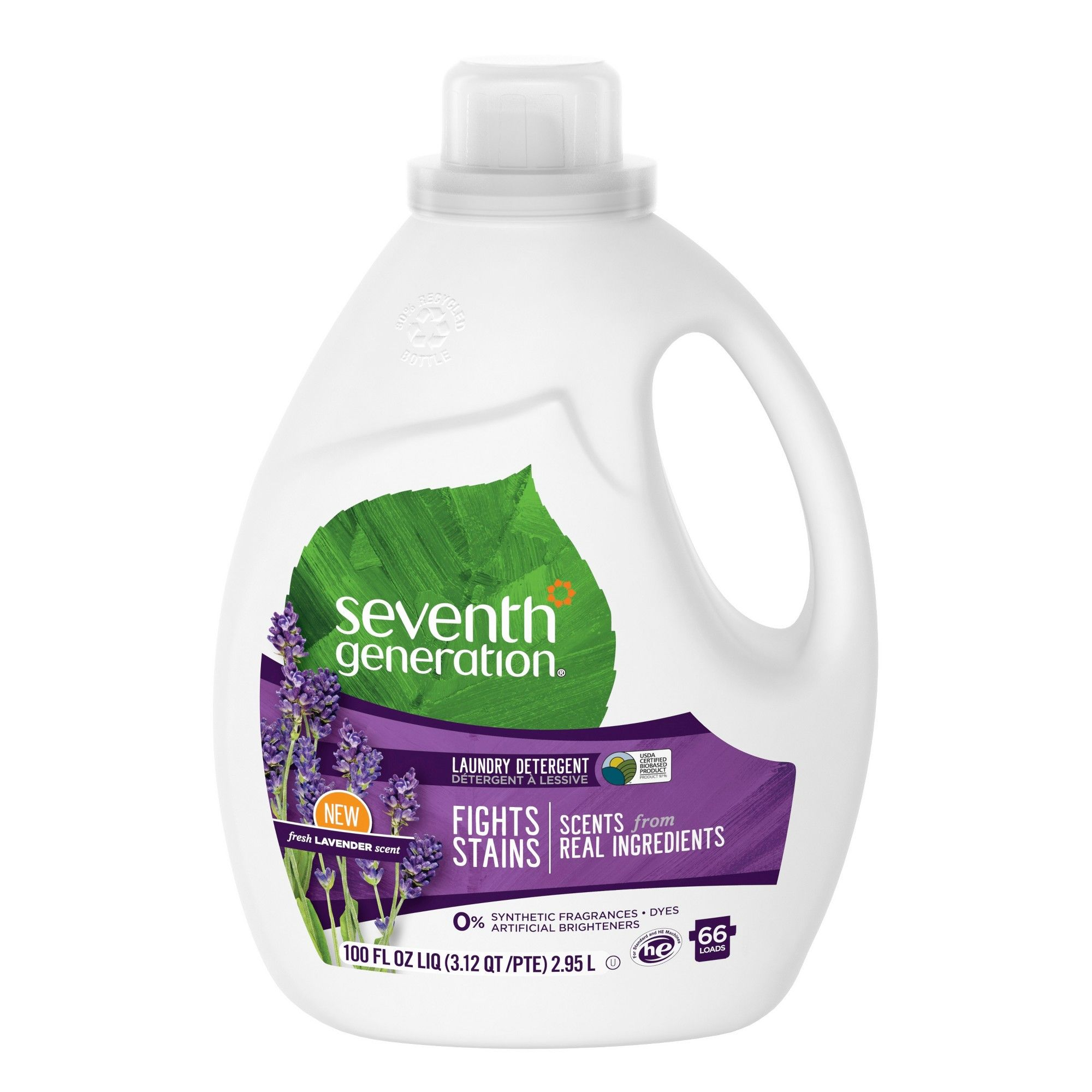 Seventh Generation Lavender Scented Natural Liquid Laundry