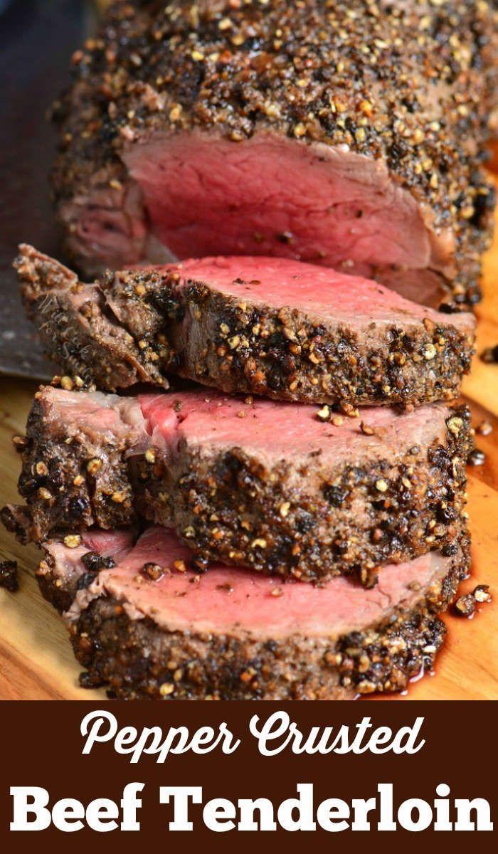 Pepper Crusted Beef Tenderloin