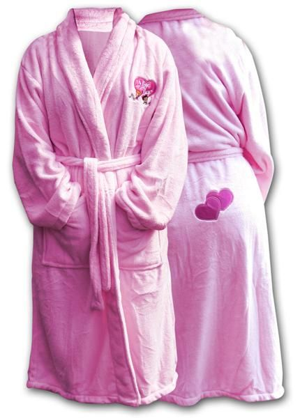 I Love Lucy Plush Bath Robe