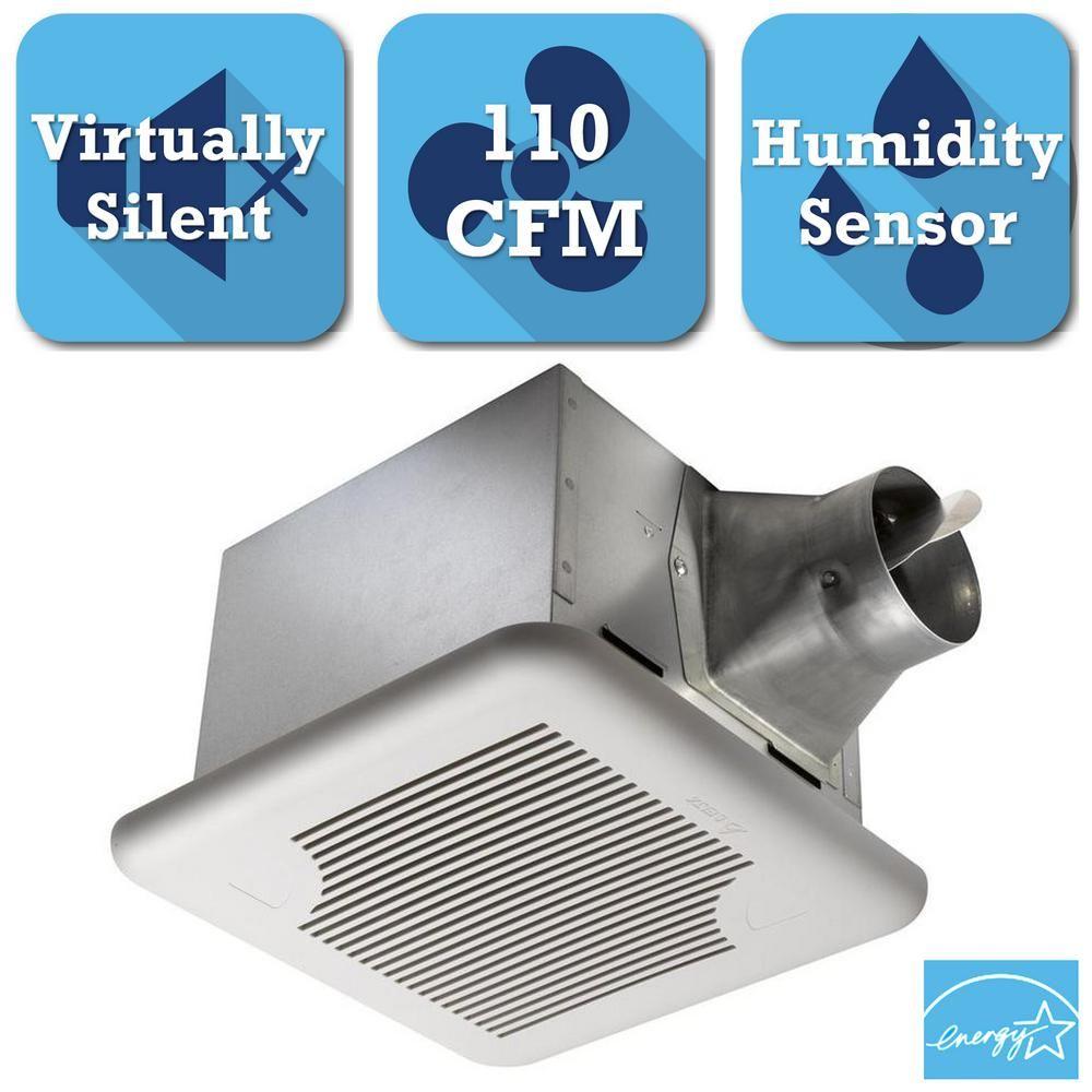 signature series 110 cfm ceiling exhaust bath fan with adjustable rh pinterest co uk