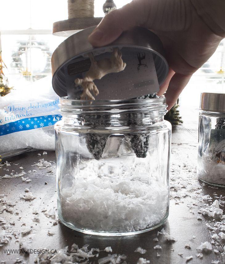 DIY Gift Card Snow Globe Snow globes, Gift card