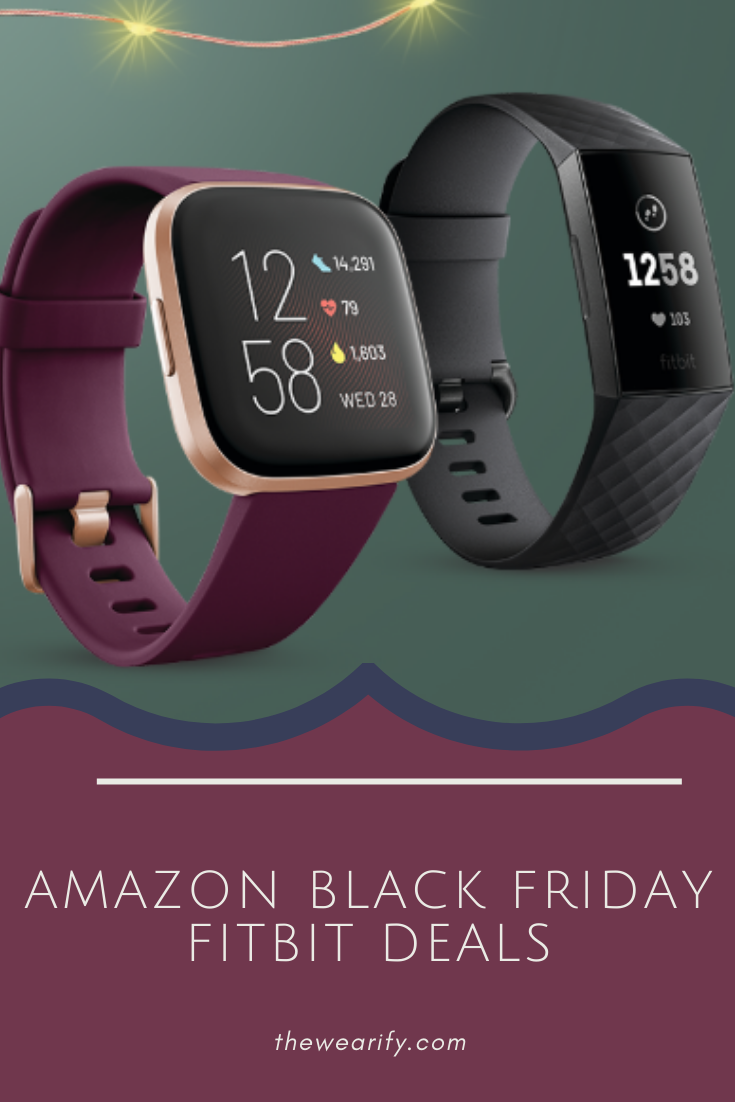 Amazon Fitbit Black Holiday Deals Black Fitbit Fitbit Smart Watch