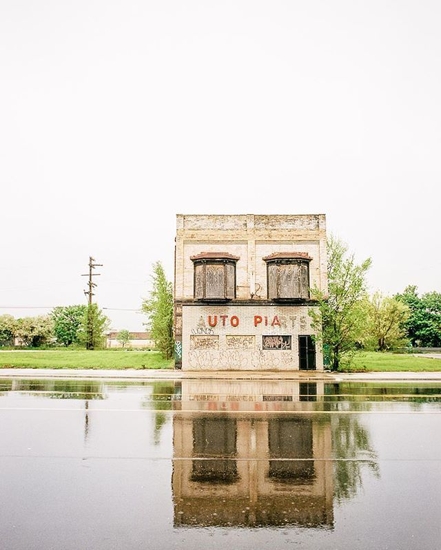 """This is @ianbrownphotography - thanks to @fvonf for letting me take over their feed this weekend. I'm posting some images from a few projects - starting with some images from a forthcoming monograph on Detroit, """"Prairie and Pavement"""" - feel free to follow along :) #america"""