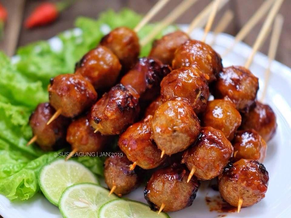 Resep Bakso Bakar Madu Oleh Susi Agung Resep Resep Makan Malam Sehat Masakan Resep Masakan