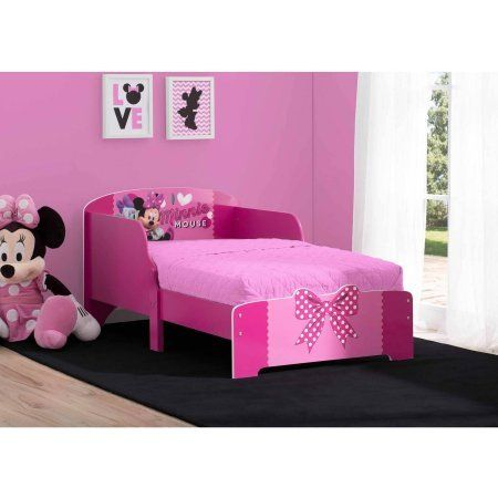 Disney Minnie Mouse Wood Toddler Bed Ad Toddler Bed Set