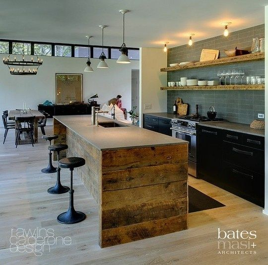elements at home: kitchen benchtop ideas, concrete | kitchen reno