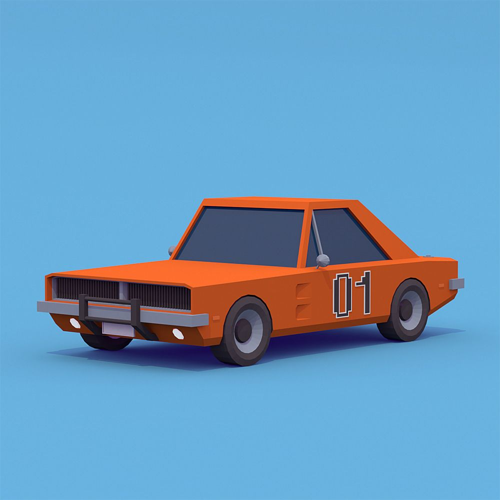 dodge charger general lee 1969 by saturn 74 3docean toys in rh pinterest com