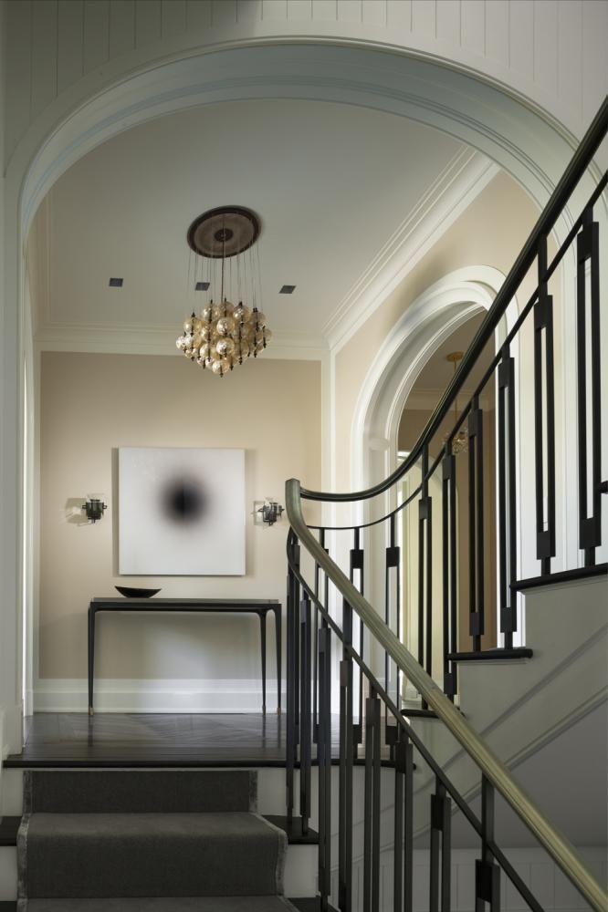 House In Southport Connecticut Ideas Para El Hogar Pinterest - Barandas-escaleras-modernas