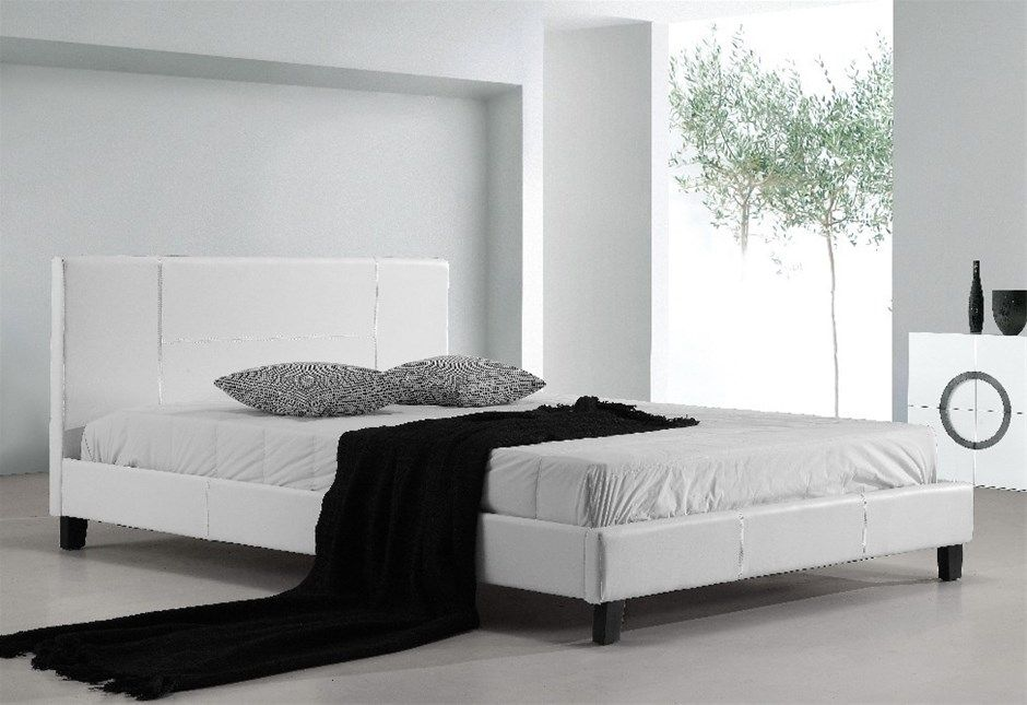 Popular Beds With Mattress Included In 2020 White Queen Bed