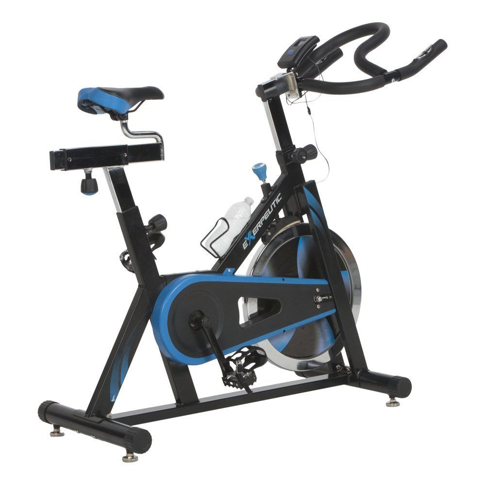 Exerpeutic Lx7 Indoor Cycle Trainer With Computer Monitor And Heart Pulse Sensors Cycling Indoor Trainer Biking Workout Cycle Trainer