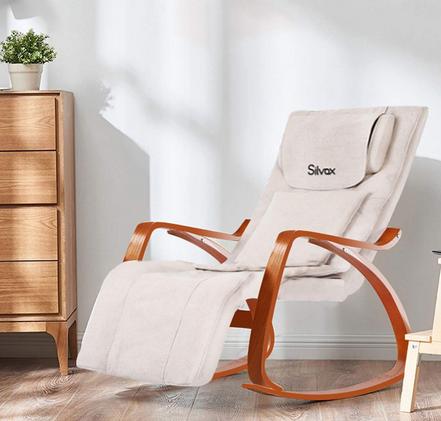 Silvox Massage Chair Recliner Shiatsu Back Neck and