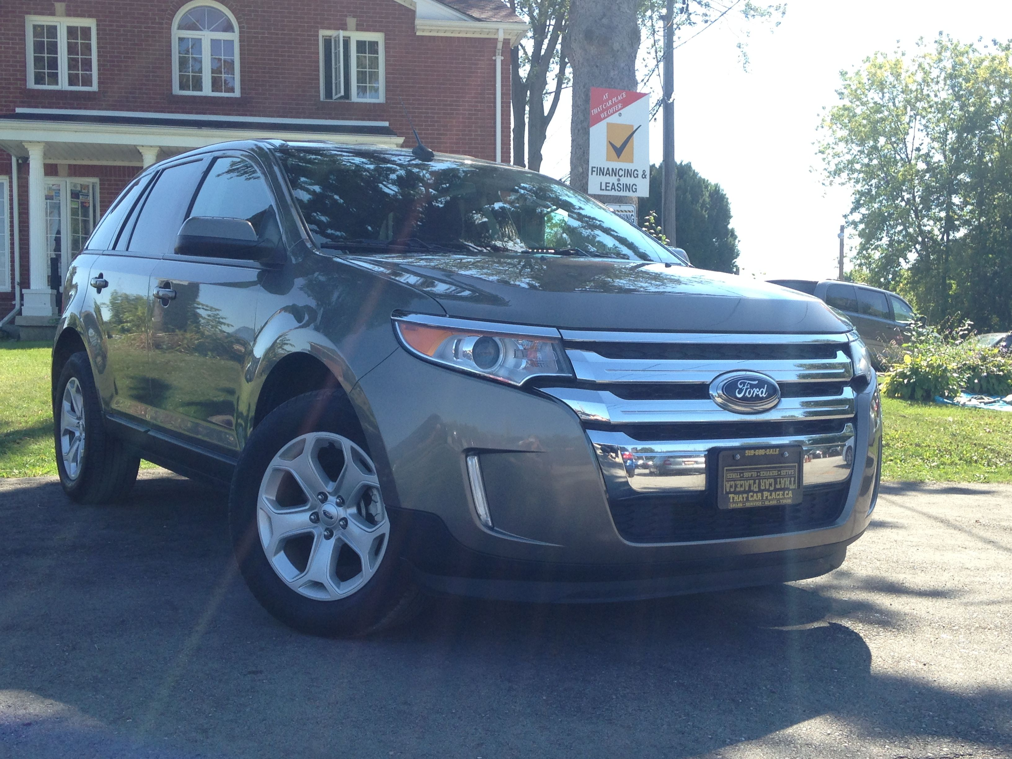 2014 Ford Edge Sel 26 994 Drive This Vehicle F Car Places Used Cars Sport Cars