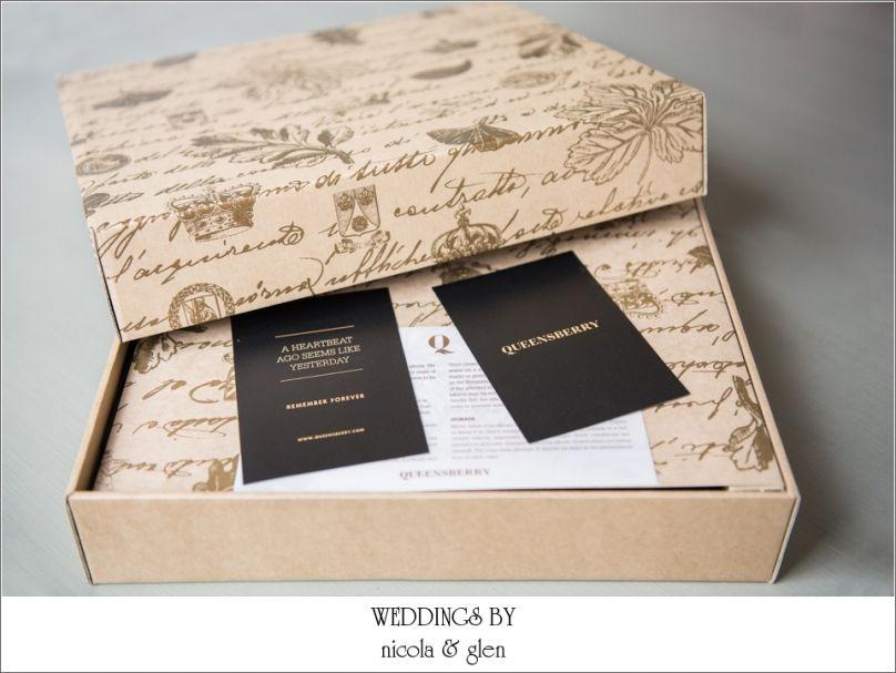 Wedding Photography Presentation Boxes: Queensberry Wedding Album Presentation Box
