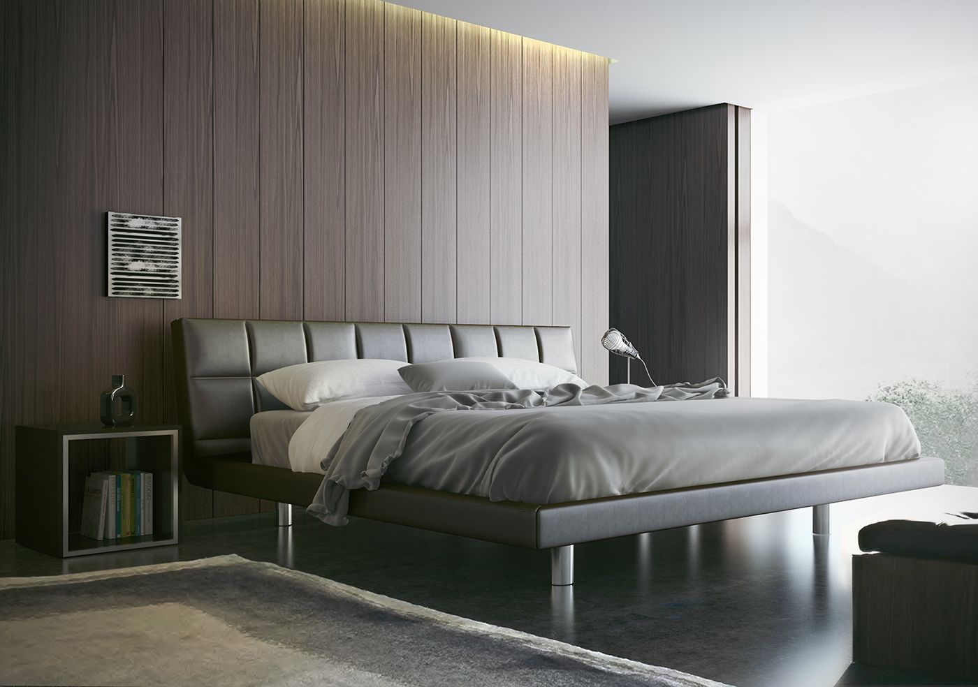 Here are 50 perfectly minimal bedrooms which