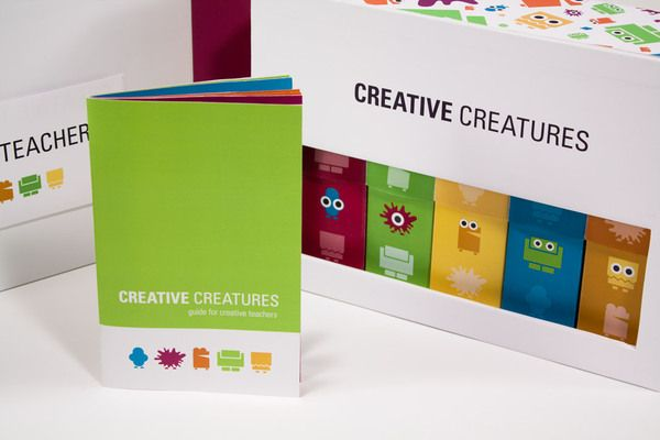 Creative Creatures by Katie Brooks, via Behance
