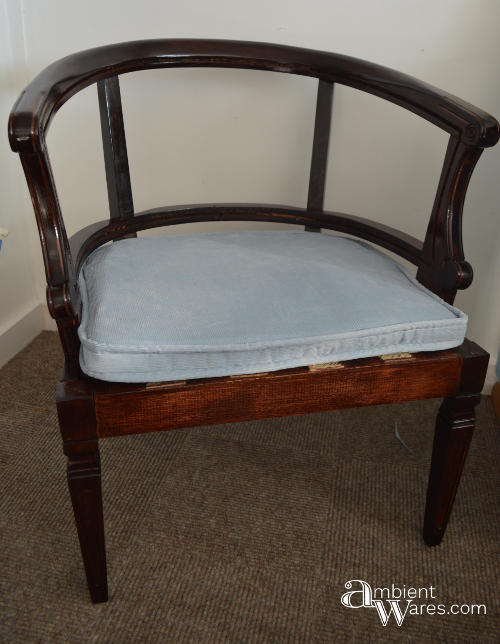 Refurbished Cane Back Barrel Chair Barrel Chair Office Chair Design Chair